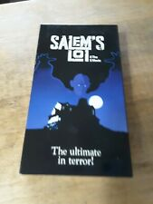 Salem's Lot The Movie Rare Non Rated Version Vhs Special Non-rated Case 1979