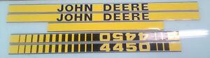 John Deere 4450 Hood Decals