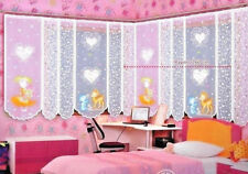 """Kids Net Curtain  Sold by the Metre Children Room Decoration 72"""" drop"""
