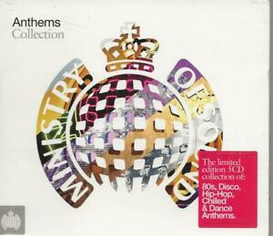 5 CD BOX - MINISTRY OF SOUND - ANTHEMS COLLECTION DISCO HIP HOP DANCE