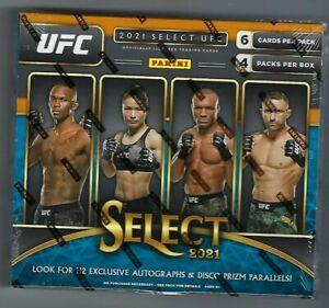 2021 Panini Select UFC Hobby Hybrid H2 Factory Sealed Box