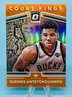 Giannis Antetokounmpo 2017-18 Panini Donruss Optic # /9 Orange Prizm Holo SSP💎