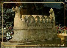 Postkarte Trier Fotokunst Schwalbe: 4/2 Römisches Weinschiff in Neumagen