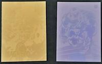 Venom & Magneto 1991 / 1992 Impel Marvel Universe Promo Hologram Card Set of 2