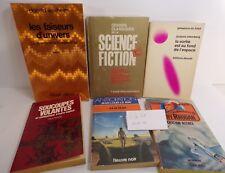 Lot de 6 livres de Science-fiction, anticipation: Wollheim,sternberg, Lemay…