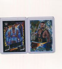 2014 2015 Topps WWE Slam Attax Foil Big E The New Day