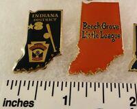 2 Little League Baseball PINs - IN D3 Beech Grove