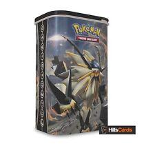 Pokemon TCG Dusk Mane Necrozma Deck Shield Tin: 2 Booster Packs - Card Case Box