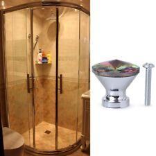 Multi-Color Diamond Crystal Glass Cabinet Knob Cupboard Drawer Pull Handles