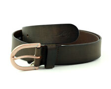 Levi´s Leder Gürtel Unisex 217875 brown Leather Belt Größe 85 cm (Breite 3,5 cm)