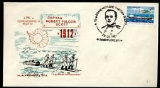ROMANIA - ROMANIA - 1987 - BUSTA - 75° Anniversario della morte del Cap. Scott