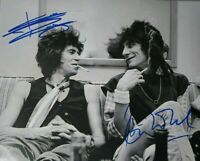 Keith Richards Ronnie Woods Autographed Signed 8x10 Photo ROLLING STONES REPRINT