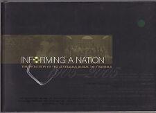 INFORMING A NATION : EVOLUTION OF THE AUSTRALIAN BUREAU OF STATISTICS   dv