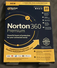 Norton 360 Premium 10 Devices 75GB PC Cloud Storage 21389946 037648687041