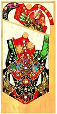BALLY FLASH GORDON Pinball Machine Playfield Overlay