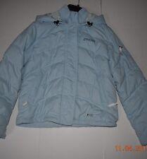 Spyder Baby Blue Ladies Snowboard Ski Jacket Sz 6