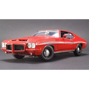 ACME – 1/18 Scale – 1972 Pontiac LeMans GTO in Red