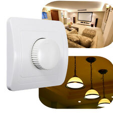 110V / 220V Adjustable Controller LED Dimmer Switch For Dimmable Light Bulb Lamp