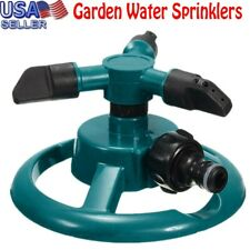 New listing Lawn Sprinkler Automatic Garden Water Sprinklers Lawn Irrigation Rotation 360° A