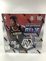 2019-20 Panini Mosaic NBA Basketball Factory Sealed 1 Mega Box Ja? Zion? Herro?
