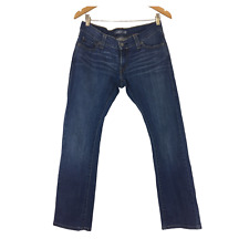 levi's 504 Tilted Straight Jeans Blue Denim Size W34 L30