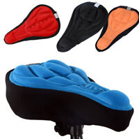 Seat Saddle Cover Soft Bike Cushion Pad Thick Cycling Bicycle Pad Cushion Cover