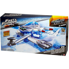 Fast and Furious Street Frozen Missile Attack Playset Vehicle Car F8 Ice Charger