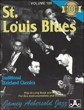 Vol. 100, St. Louis Blues: Traditional Dixieland Classics Book & CD Set