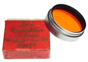 Leica XOOZY Orange Filter for 50mm f1.5 Summarit  #Box 1