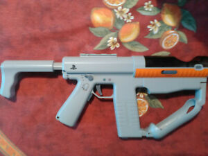 PS Move Sharpshooter Light Gun Controller Complete, Tested, Sanitized