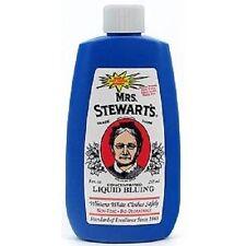 Mrs. Stewart's Liquid Bluing Stewarts Salt Crystal Laundry Blueing