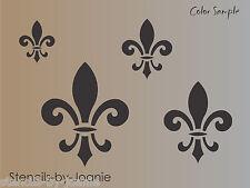 Fleur STENCIL French Fluer de lis Cafe design Cottage Chic Decor Shabby Signs