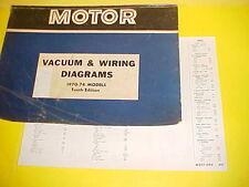 1970 1971 1972 1973 FORD MUSTANG GT MACH I BOSS 302 429 VACUUM+WIRING DIAGRAMS