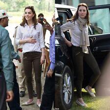 ZARA BLACK SKINNY STRETCH BIKER JEANS UK 6 Kate Middleton RARE