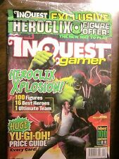 INQUEST GAMER #97  (SEALED with All Inserts-LOTR 2003 Tournament Schedule Card)
