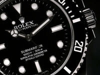 Rolex Submariner (No Date) Black PVD/DLC Coated Stainless Steel Watch 114060