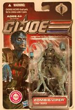 "ZOMBIE VIPER COBRA GI JOE Pursuit Of Cobra Hasbro 3.75"" Inch Action FIGURE"