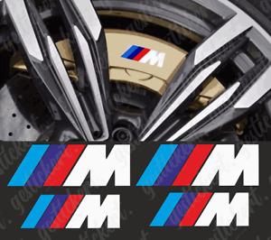 4x M Bremssattel Aufkleber Sticker Decal BMW Brake Caliper Tuning E92 F30 F32 M4