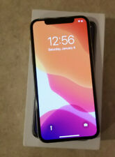 Apple iPhone X - 256GB - Silver (Unlocked) A1865 (CDMA + GSM) Excellent!