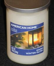 1 2 3 Yankee Candles WARM WINTER GLOW Large 19 oz JAR White Scented Christmas
