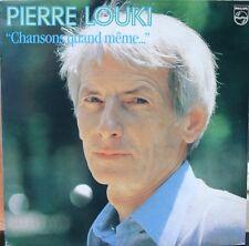 PIERRE LOUKI Chansons quand même… LP 33T 30CM / PHILIPS 6313.406 quasi NEUF