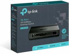 TPLINK Ethernet Network 16 Port Switch TP Link Lan Desktop Office Home Internet