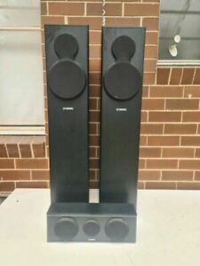 Yamaha NS-F140 Quality Front Speakers And Center Speaker