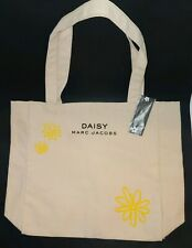 Marc Jacobs Fragrance Tote Shoulder Purse Daisy Flower Bag Canvas NWT