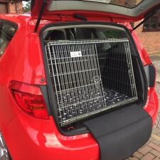 PET WORLD NEW VAUXHALL MERIVA 10-17 SLOPING CAR DOG CAGE BOOT TRAVEL PUPPY GUARD