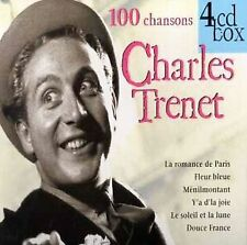 French 100 Chansons [Box] [Limited]  Charles Trent (CD,4 Discs, Best Music INT)