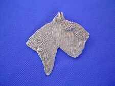 Large Bouvier des Flandres pin #43D Pewter Herding dog jewelry b Cindy A. Conter