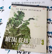 Guida Strategica Metal Gear Solid 3 Snake Eater (PS2) ITA - NUOVA