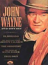 John Wayne - Gift Set (DVD, 2002, 5-Disc Set, Sensormatic)