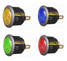 LED WARNING LIGHT, GREEN  ILLUMINATION, 12V